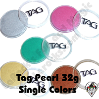 TAG Pearl Black 32 Gram Face & Body Art Paint
