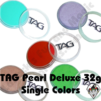 TAG Pearl Deluxe 32 Gram Face & Body Art Paints