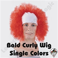 Clowning | Apparel | WIGS | Bald Curly Wigs
