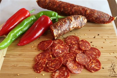 Pastosa Hot Dried Sausage