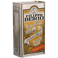 Filippo Berio 3 L Olive Oil Tin Curbside