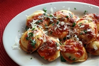 Large Round Low-Fat Cheese Ravioli