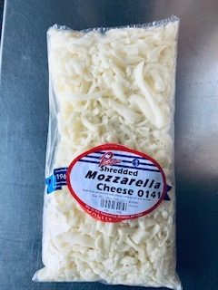 Pastosa Shredded Mozarella Cheese Curbside