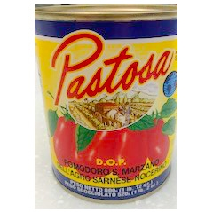 Pastosa Brand Imported D.O.P. Tomatoes Case Curbside