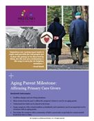 Aging Parents Milestone Module Download