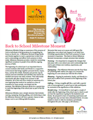 Back to School Milestone Moment Download