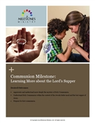 Communion Milestone Module Download