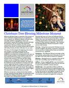 Christmas Tree Blessing Milestone Moment Download