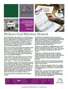 Medicare Card Milestone Moment Download