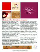 Mother's Day Milestone Moment Download