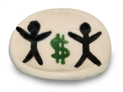 Kids and Money Stone for Gifting