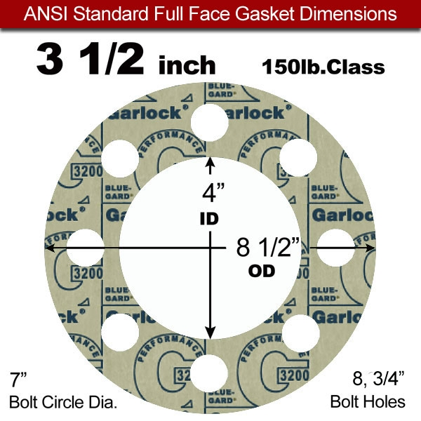 1//32 Thick 16 Pipe Size soft Pack of 20 Pressure Class 150# Full Face Gasket Sterling Seal CFF1501.1600.031.150X20 1501 Expanded PTFE White