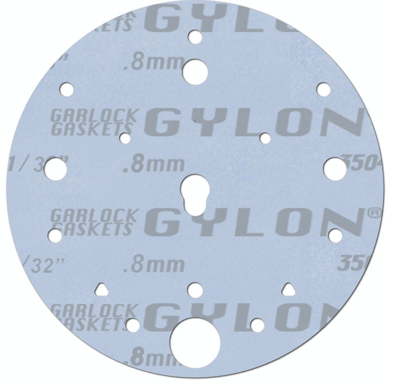 "Garlock Gylon® 3504 Blue PTFE - Custom Gasket - 1/32"" x 6 ..."