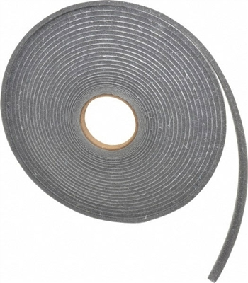 Grey Polyurethane Open Cell Foam Strip Roll with PSA