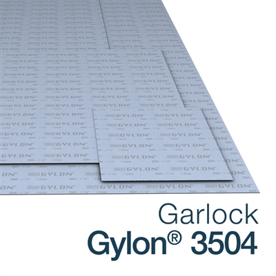 Garlock Gylon 3504 Sheets