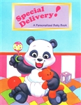 Special Delivery Baby Book (cover only - includes sticker)