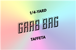 grab bag: eight 1/4-yard pieces of taffeta