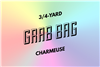 grab bag: eight 3/4-yard pieces of charmeuse