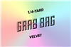 grab bag: eight 1/4-yard pieces of velvet