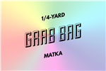 grab bag: eight 1/4-yard pieces of matka