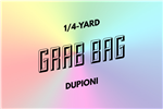 grab bag: eight 1/4-yard pieces of dupioni