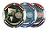 "2"" Tri-Color Medal Basketball"