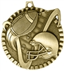 Football Medal Gold 2 inches