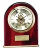 Rosewood Mantle Clock 9 1/4 x 8 1/2
