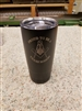 Black Insulated 20oz Tumbler - Texas Mason