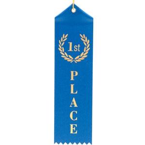 First Place Award Ribbon Hi Res Csp4615521