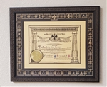 Scottish Rite Patent Frame