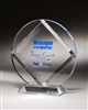 Circle Diamond Acrylic Award 6""