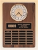 "Perpetual Plaque Wall Clock 15-1/4 "" x  21 """