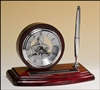 "Rosewood Skeleton Clock 8 1/4"" x 5"""