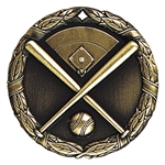 "2"" XR Medal, Baseball"