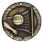 "2"" XR Medal, Volleyball"