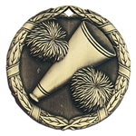 "2"" XR Medal, Cheer"