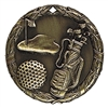 "2"" XR Medal, Golf"