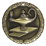 "2"" XR Medal, Lamp of Knowledge"