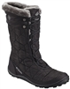 COLUMBIA WOMEN MINX MID II BOOT BLACK CHARCOAL