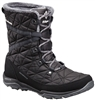 COLUMBIA WOMEN LOVELAND MID OMNI-HEAT BOOT BLACK SEA SALT