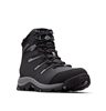 COLUMBIA MEN GUNNISON II OMNI-HEAT BOOT BLACK TI GREY STEEL