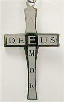 C03 STAINLESS STEEL CROSS PENDANT