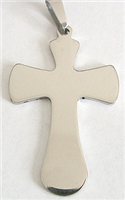 C07 STAINLESS STEEL CROSS PENDANT