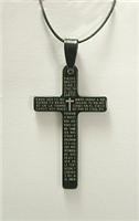 C08 STAINLESS STEEL CROSS PENDANT