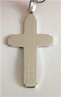 C12 STAINLESS STEEL CROSS PENDANT