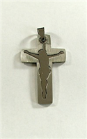 C15 STAINLESS STEEL CROSS PENDANT