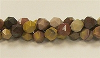 C16-08mm YOLK JASPER FACETED (DC)