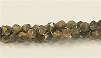 C18-06mm TIGER EYE FACETED (DC)