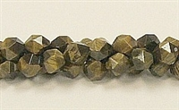 C18-08mm TIGER EYE FACETED (DC)